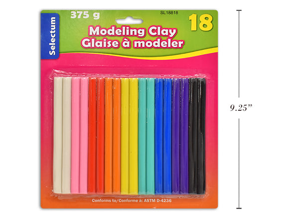 Selectum Modeling Sticks (18) - Wyndham Art Supplies
