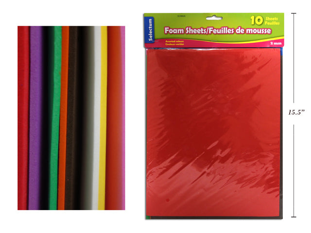 Foam Sheet 10pk - Wyndham Art Supplies