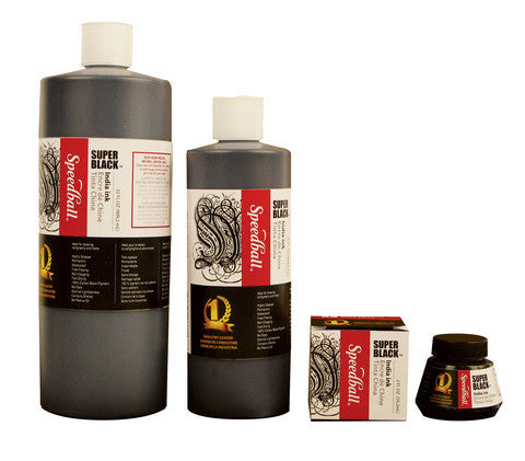 Speedball Superblack India Ink - Wyndham Art Supplies