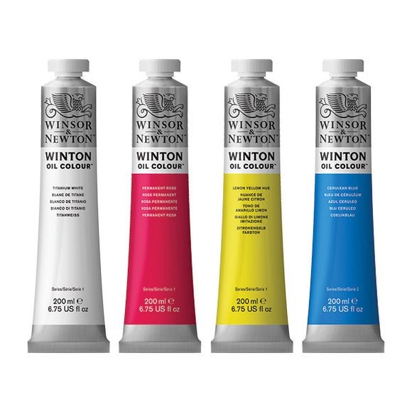 Winsor & Newton Winton Oil Paints - Wyndham Art Supplies