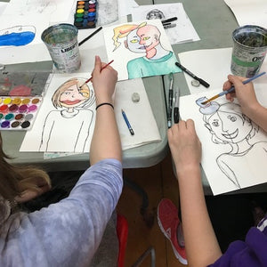 Young Artists 10-13: Session A - Wyndham Art Supplies