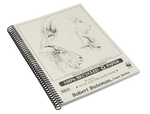 Bateman Recycled Sketchbooks