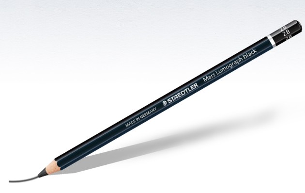 Staedtler Mars Lumograph Black Pencils - Wyndham Art Supplies