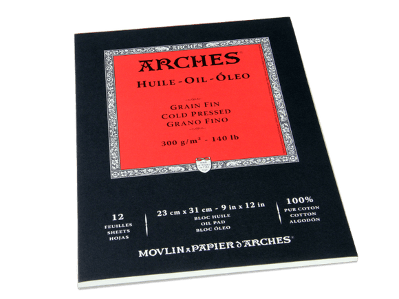 ARCHES Oil Paper Pads - Wyndham Art Supplies