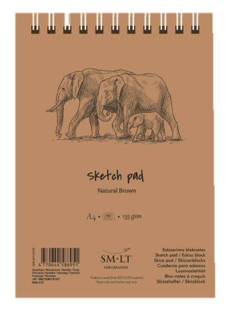 SMLT Brown Sketch Pads - Wyndham Art Supplies