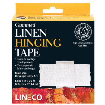 Gummed Linen Hinging Tape - Wyndham Art Supplies