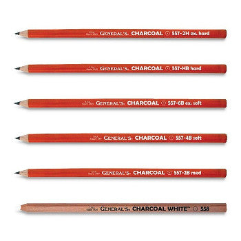 General's Charcoal Pencils - Wyndham Art Supplies