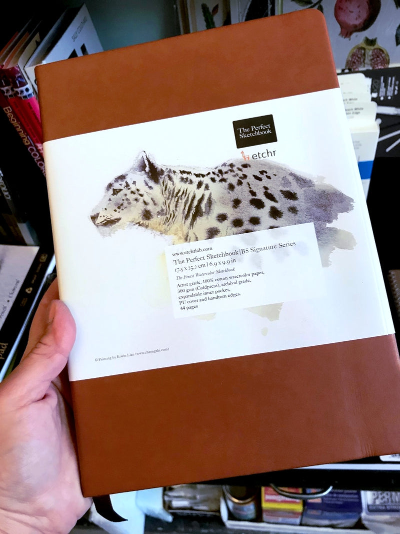 etchr Perfect Sketchbook B5 Limited Edition