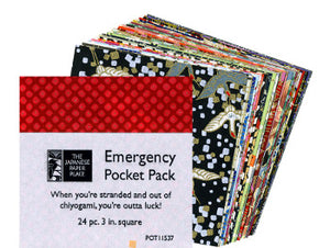"Emergency Pocket Pack 3"" - Wyndham Art Supplies"