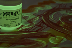 Golden Phosphorescent Green - Wyndham Art Supplies
