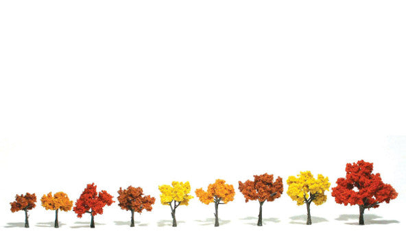 Realistic Trees TR1540 9pc. - Wyndham Art Supplies