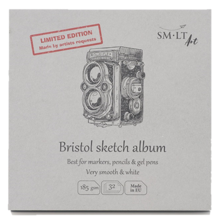 SMLT Bristol Sketch album 6x6 - Wyndham Art Supplies