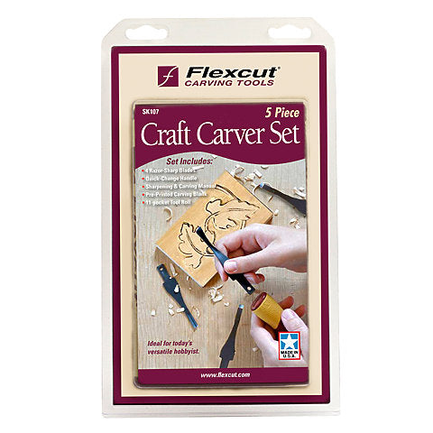 Craft Carver set 5 piece