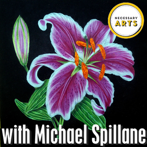 Brilliant Florals on Black @NAC - Wyndham Art Supplies