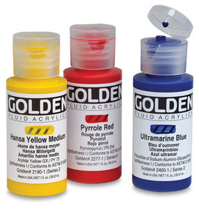 Golden Fluid Acrylics 1oz - Wyndham Art Supplies