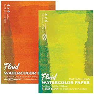 Fluid Watercolour Blocks