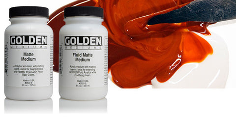 Golden Fluid Mediums