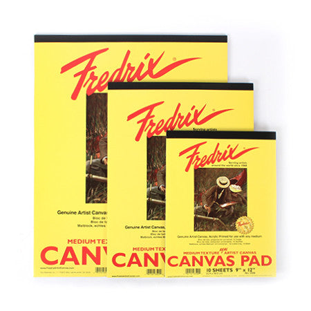 Frederix Canvas Pads - Wyndham Art Supplies