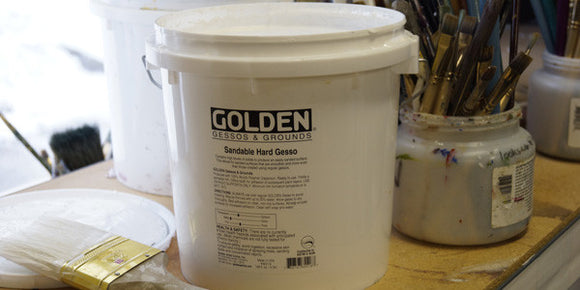 Golden Gesso - Wyndham Art Supplies