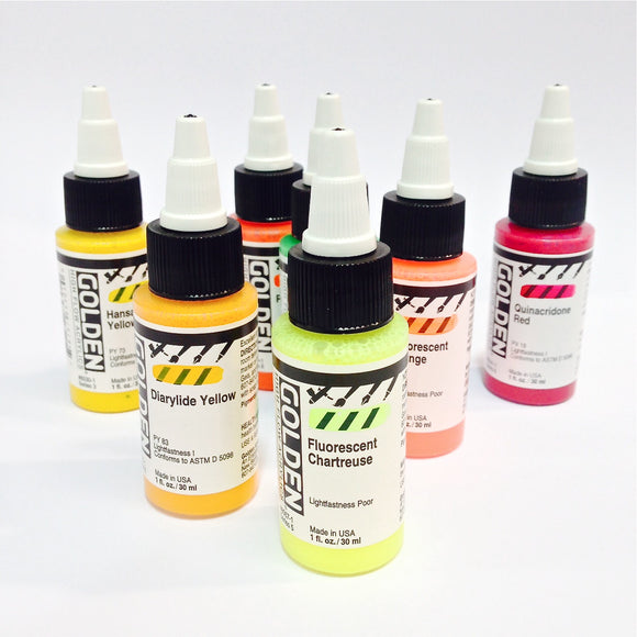 Golden High Flow Acrylic Paint - Wyndham Art Supplies