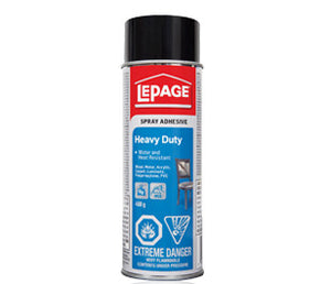 LEPAGE Spray Adh Hvy Duty 468g - Wyndham Art Supplies