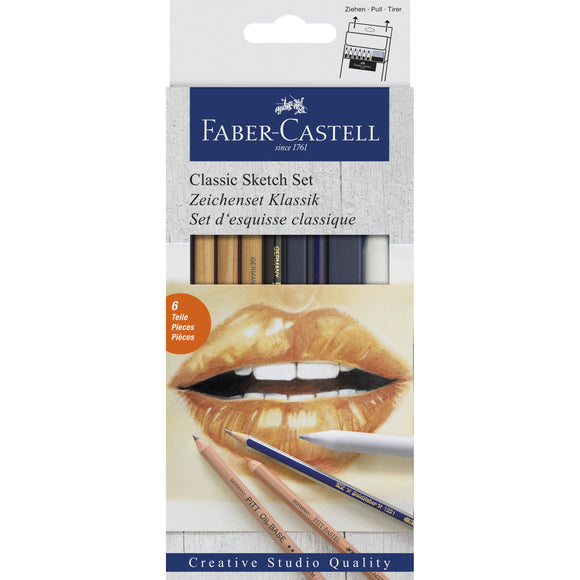 FC Classic sketch set (blue) - Wyndham Art Supplies