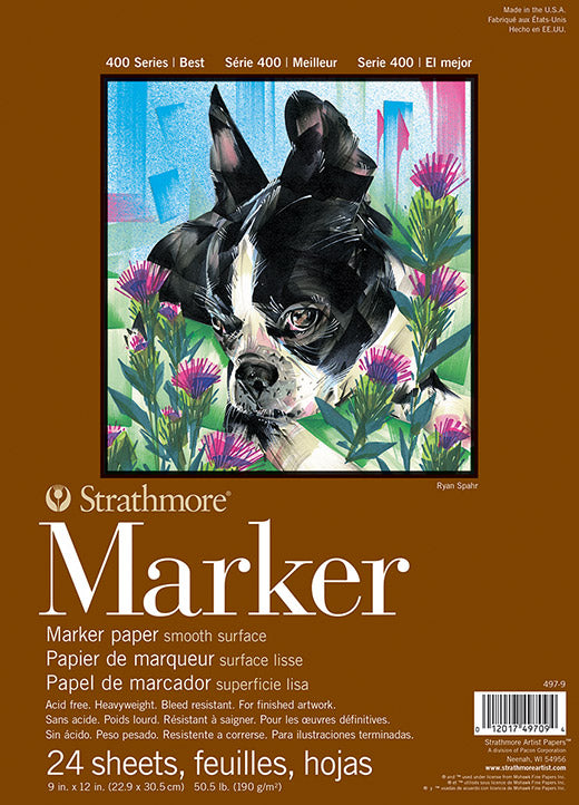 Strathmore Marker Pads - Wyndham Art Supplies