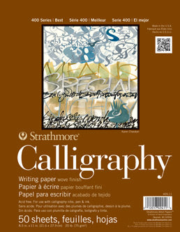 Strathmore Calligraphy pad