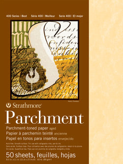 Strathmore Parchment 50 pack - Wyndham Art Supplies