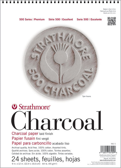 Strathmore Charcoal Pads - Wyndham Art Supplies