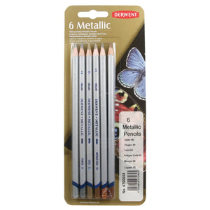 Derwent Metallic Pencils - Wyndham Art Supplies