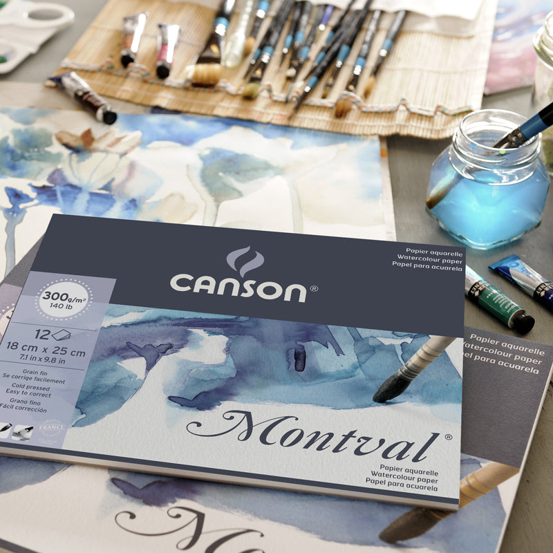 Canson Montval Watercolour Pad - Wyndham Art Supplies