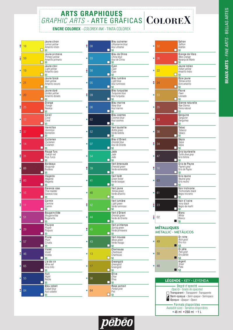 Colorex Liquid Watercolours - Wyndham Art Supplies
