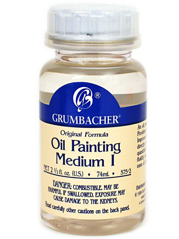 Grumbacher Oil Mediums - Wyndham Art Supplies