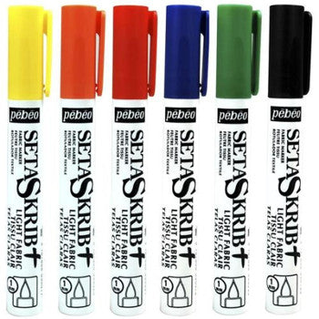 Pebeo SetaSkrib+ Fabric Marker - Wyndham Art Supplies