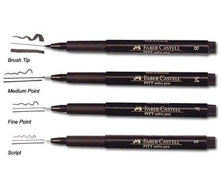 Pitt Pen Artist Fineliner - Wyndham Art Supplies