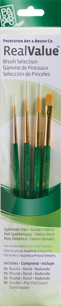 Princeton Real Value Brush Set