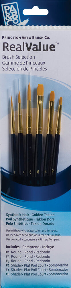 Princeton Synthetic Brush Sets