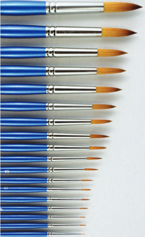 HJ Gold Sable Brushes - Wyndham Art Supplies