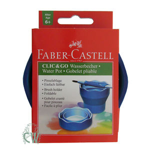 Faber-Castell Clic and Go Portable Water Cup - Wyndham Art Supplies