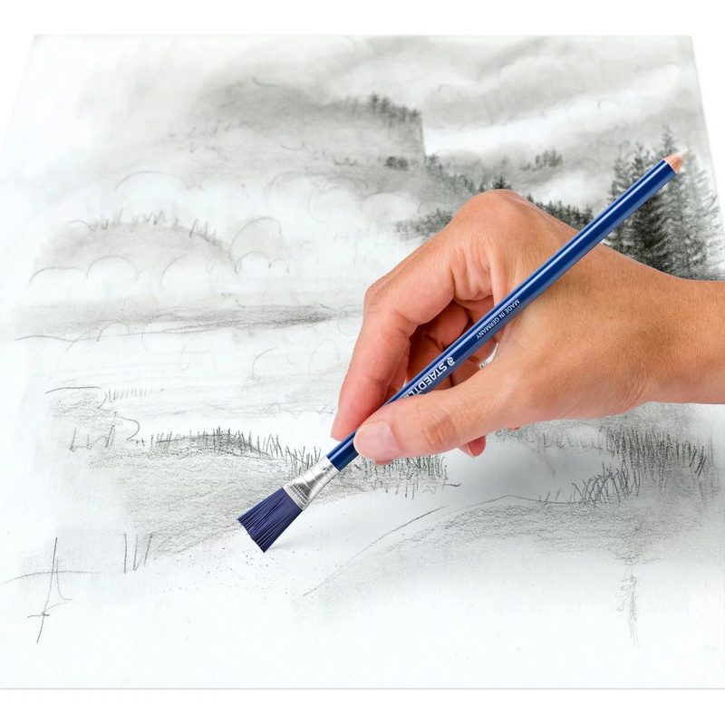 Staedtler Eraser Pencil with Brush - Wyndham Art Supplies