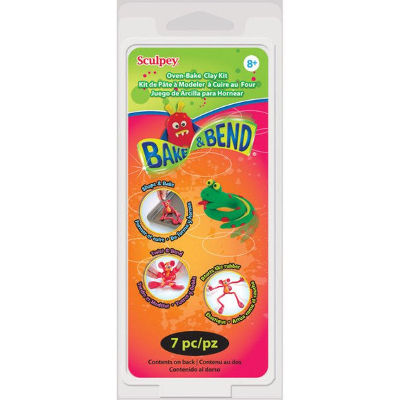 Sculpey Bake & Bend 7 pack
