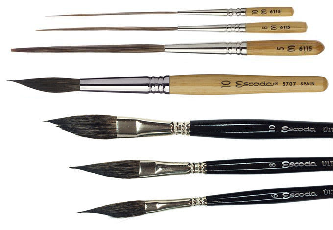 Escoda Speciality Brushes - Wyndham Art Supplies