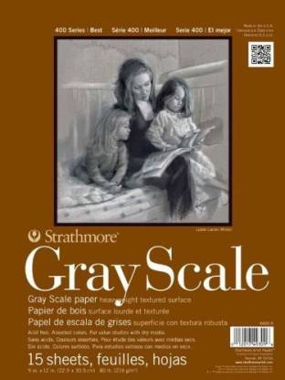 Strathmore Greyscale Pad