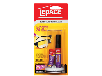 LePage Super Glue All Plastics - Wyndham Art Supplies