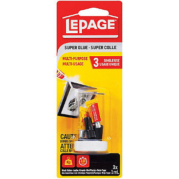 Lepage Super Glue 3-Pack