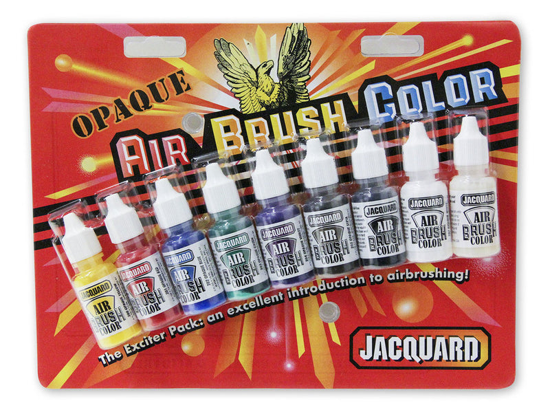 Jacquard Airbrush Exciters - Wyndham Art Supplies