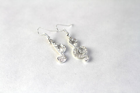 Gorgeous Musical Notes Earrings