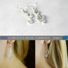 Image of Gorgeous Musical Notes Earrings