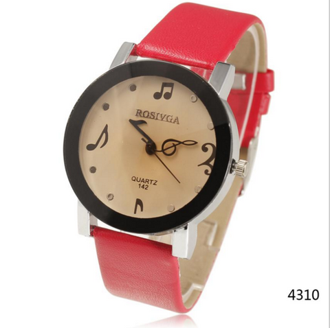 """The Artist"" Music Note Watch"